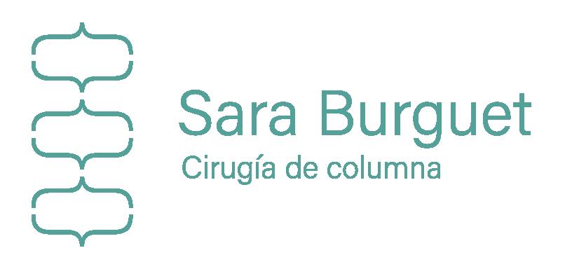 Dra. Sara Burguet. Cirugía de columna